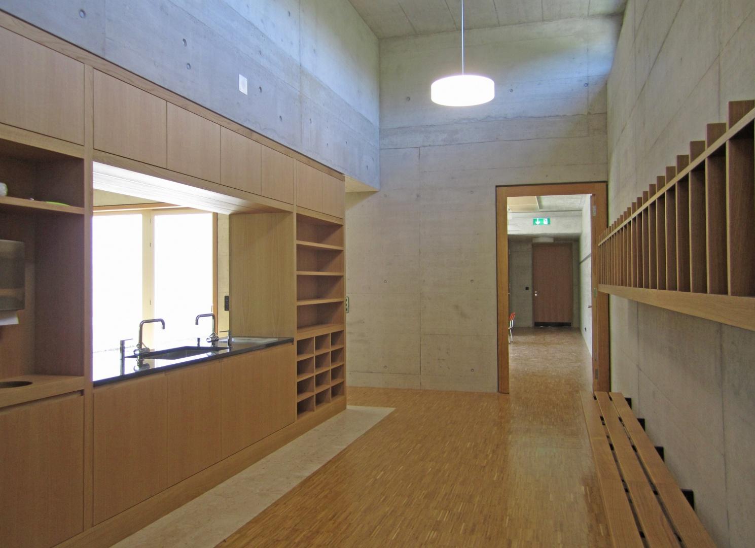 Garderobe Kindergarten © Hopf & Wirth Architekten, Rychenbergstrasse 2,  8400 Winterthur