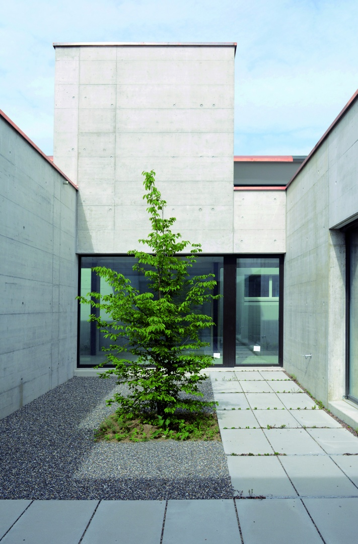 Innenhof Kindergarten © Hopf & Wirth Architekten, Rychenbergstrasse 2,  8400 Winterthur