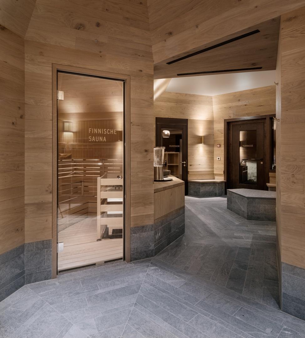 Wellness Sauna © Ulrich Stockhaus, Fotograf, Zürich