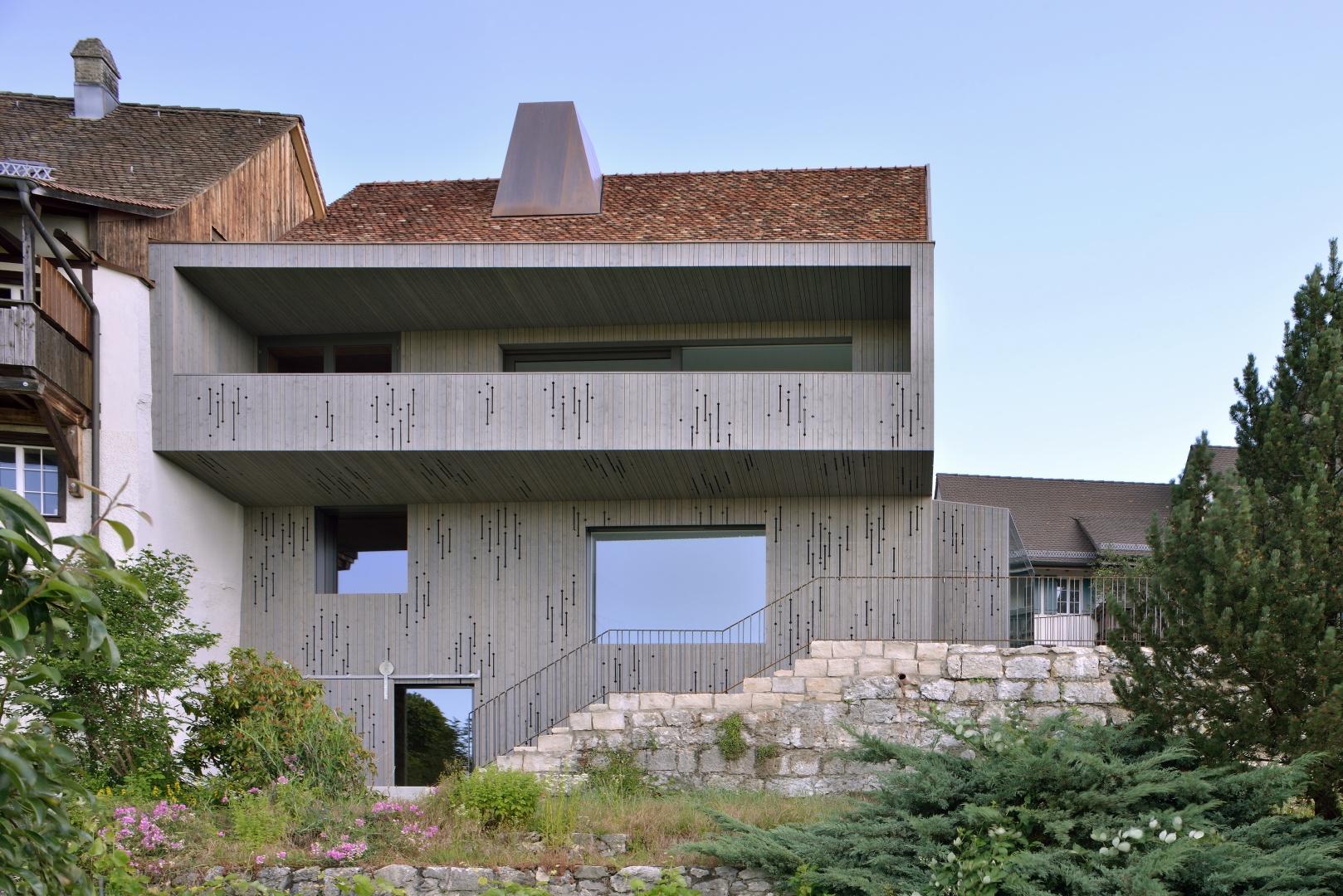 Umbau haus lendenmann schweizer baudokumentation - Come scegliere il colore esterno della casa ...