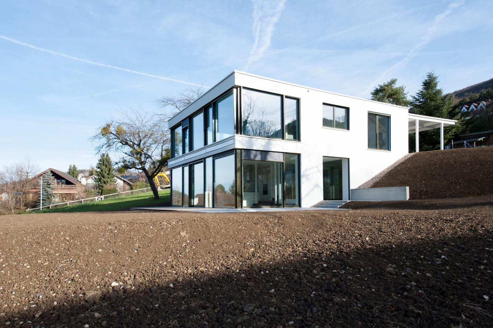 Südwestansicht © Juho Nyberg Architektur GmbH, Forchstrasse 30, 8008 Zürich