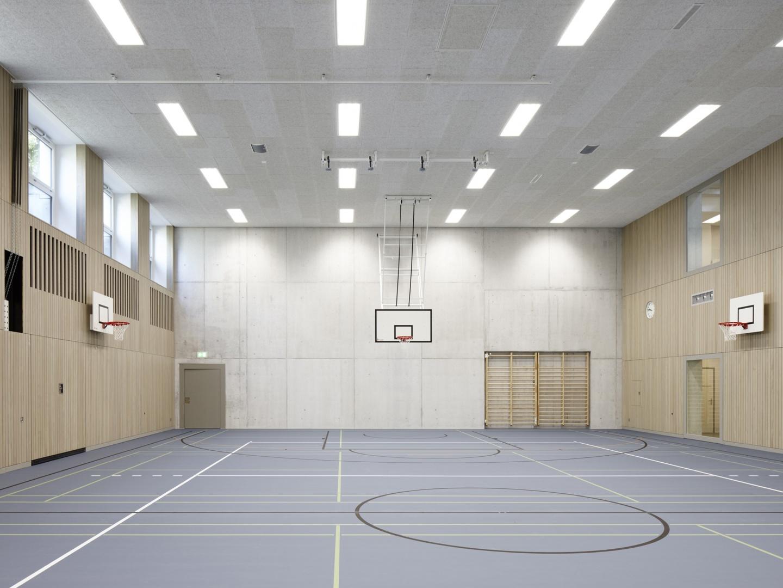 Salle de gymnastique © Ralph Feiner, Chur