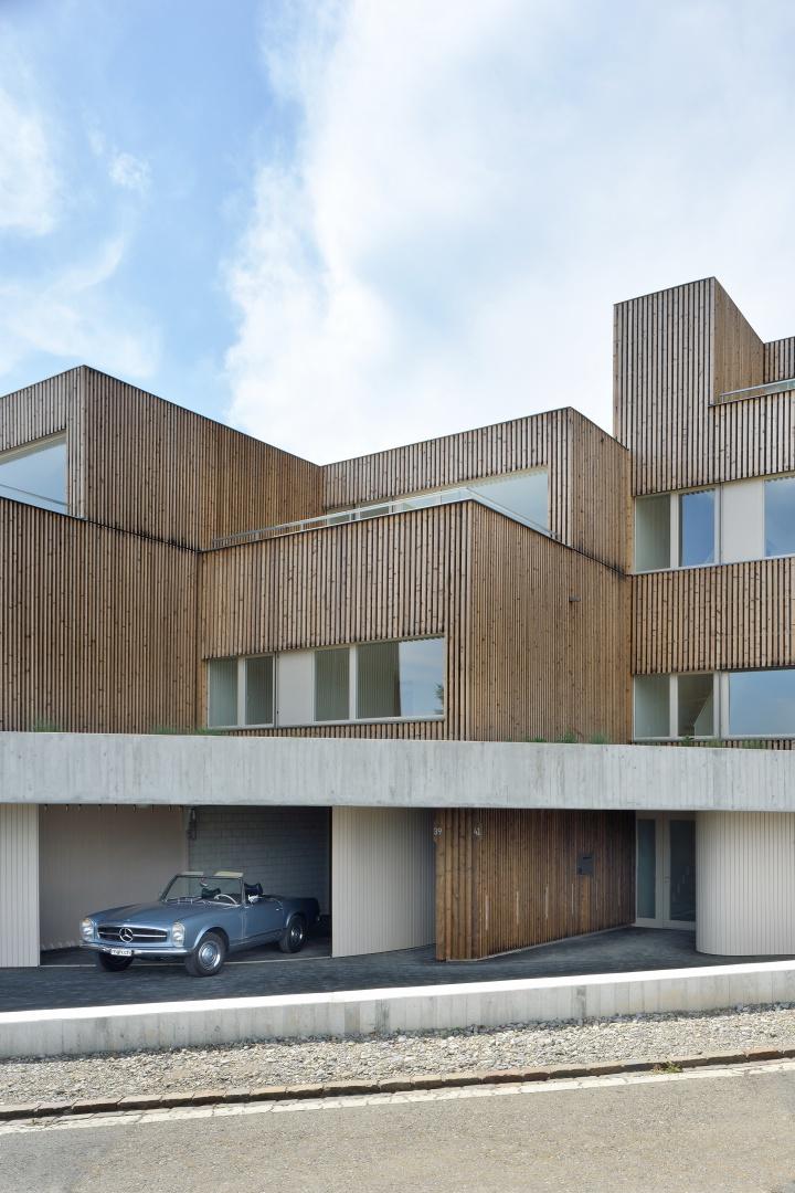 Individuelle Garagen und Eingänge © Sabrina Scheja, Berneckerstrasse 215, CH-9435 Heerbrugg