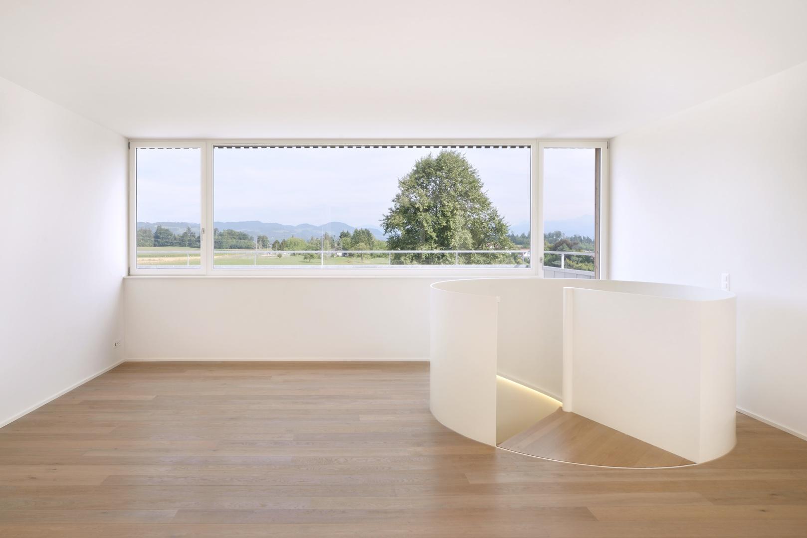 Unverbaubarer Blick in die Alpen © Sabrina Scheja, Berneckerstrasse 215, CH-9435 Heerbrugg
