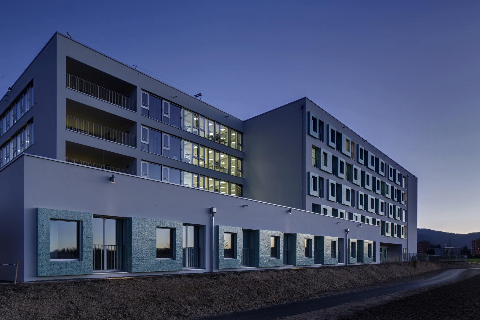 Nordwestfassade © René Dürr