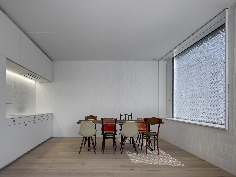 Innenraum - Küchenbereich © Roger Frei, Zürich