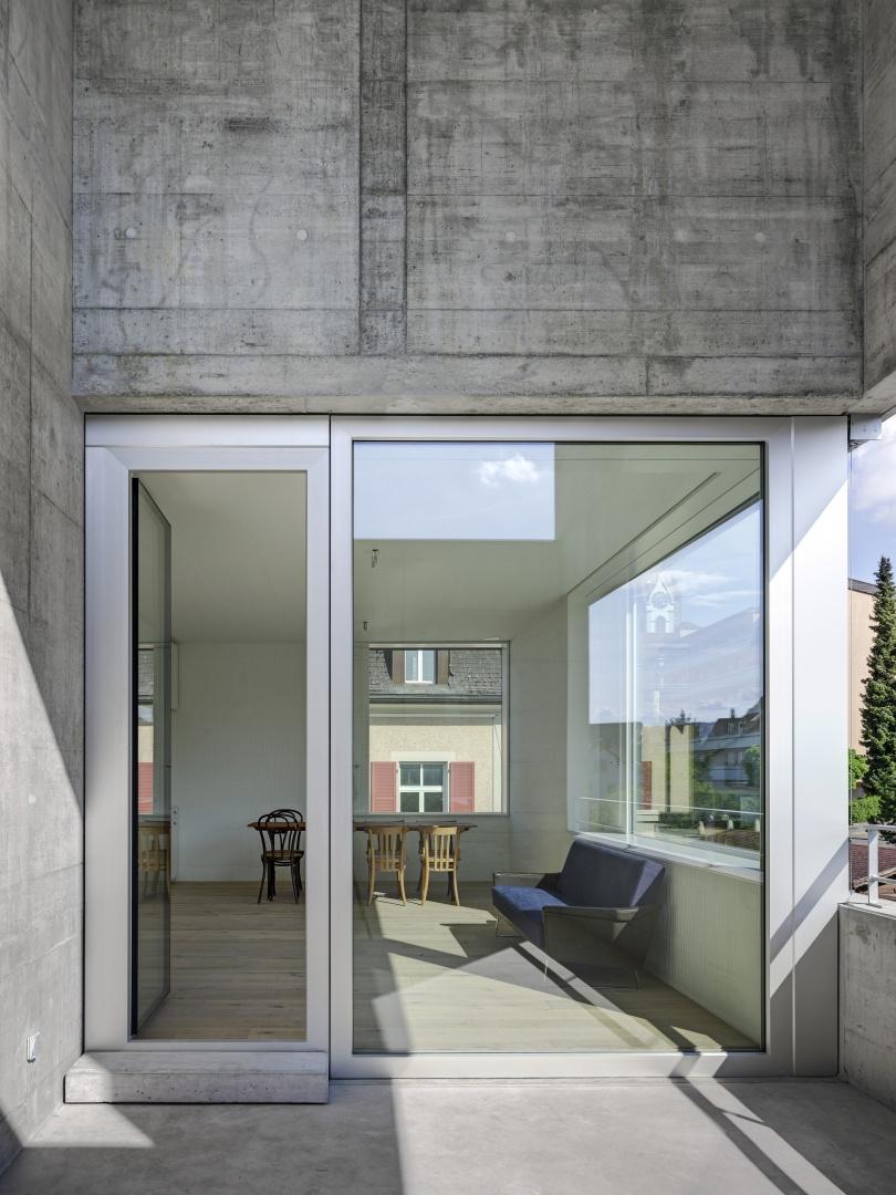 Doppelgeschossige Loggia © Roger Frei, Zürich