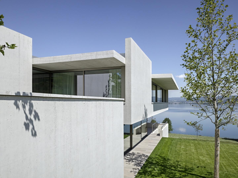 Aussensituation - Ausrichtung zum See  © Roger Frei, Zürich