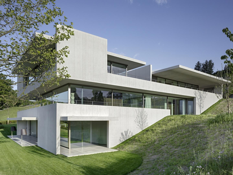 Aussensituation - Haus im Hang  © Roger Frei, Zürich