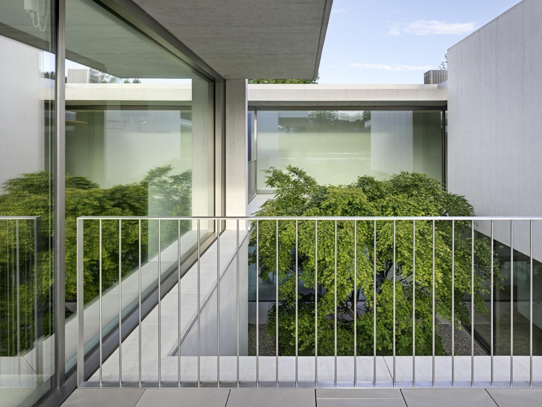 Blick ins Atrium  © Roger Frei, Zürich