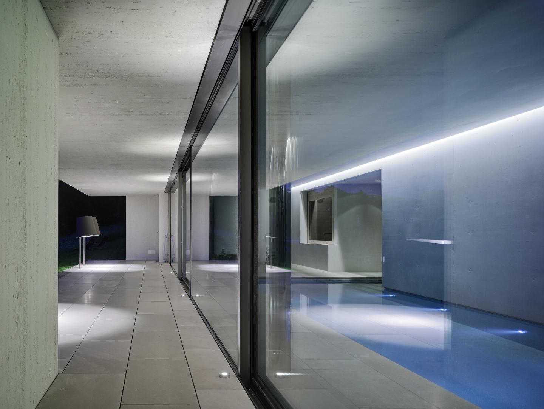 Pool im Untergeschoss  © Roger Frei, Zürich