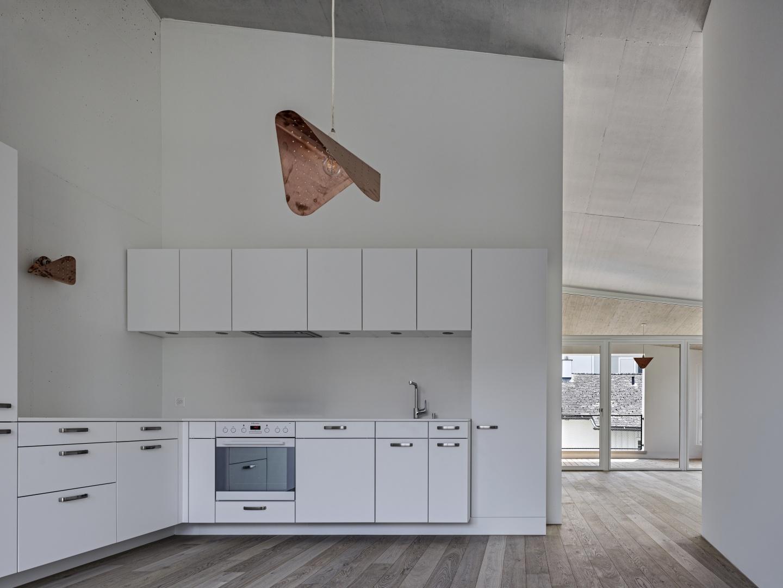 Innenraum - Küche © Roger Frei, Zürich