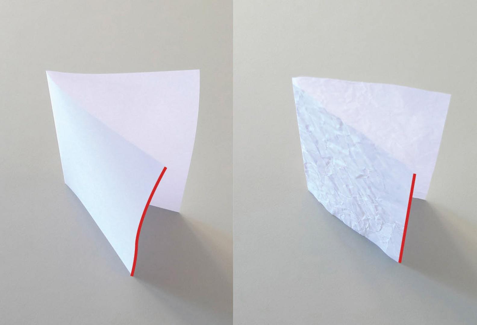 Statisches Prinzip Knitterwerk © Atelier M Architekten, Bild Atelier M Architekten