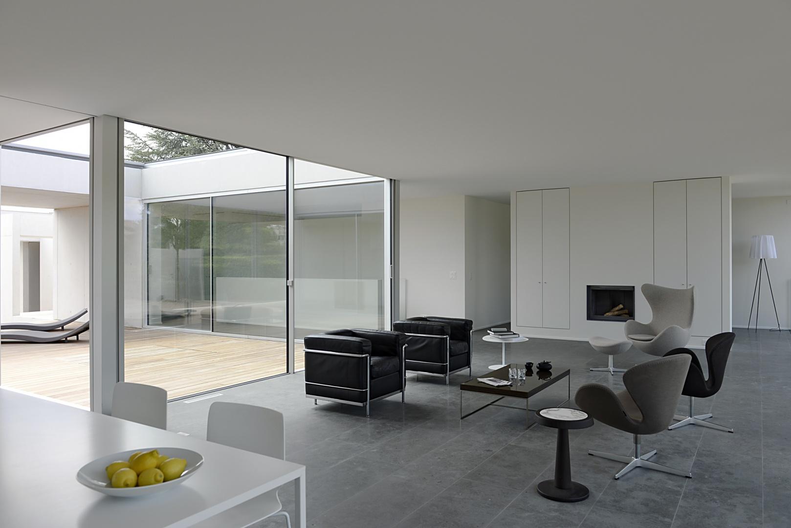 Wohnzimmer © Leo Fabrizio, Lausanne
