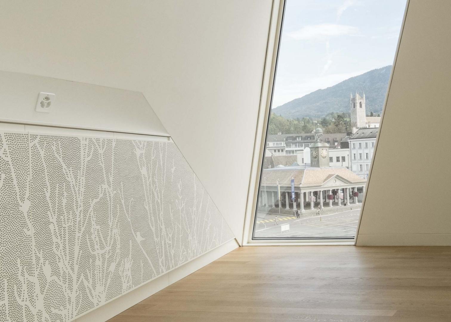 Detail im Salon Saint-Saëns © architecum, Montreux