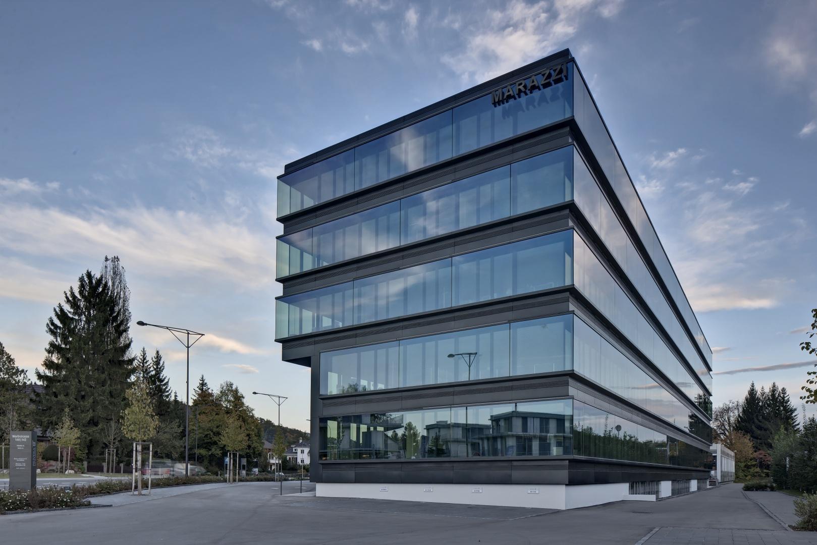 Blick auf Neubau © RENÉ DÜRR ARCHITEKTURFOTOGRAFIE, SCHWANDENHOLZSTRASSE 228, 8046 ZÜRICH