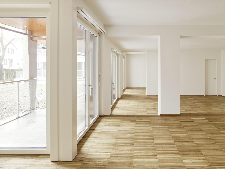 Pfeiler als raumbildendes Element  © Roland Bernath, Fotografie Architektur, Zürich