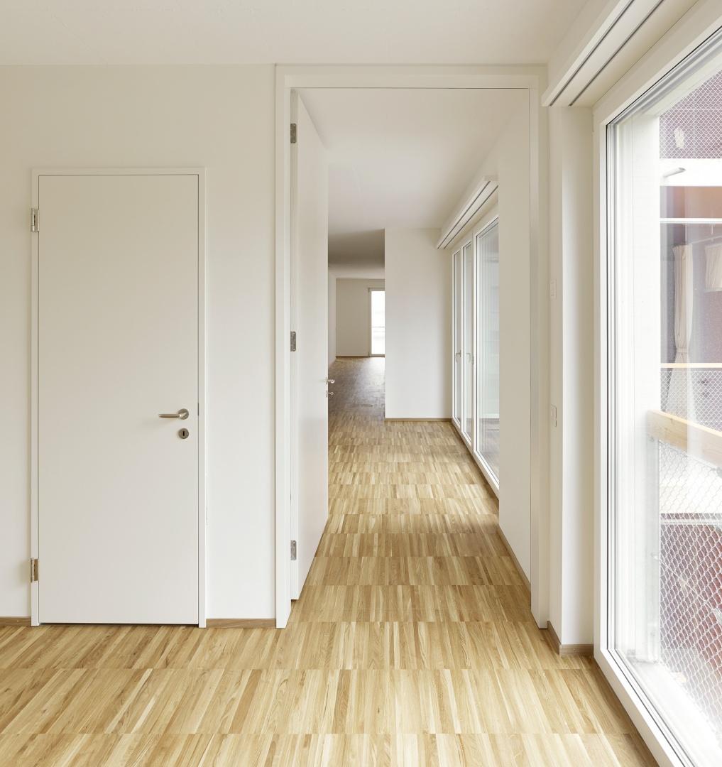 Raumachse in einer Vier-Zimmer-Wohnung  © Roland Bernath, Fotografie Architektur, Zürich