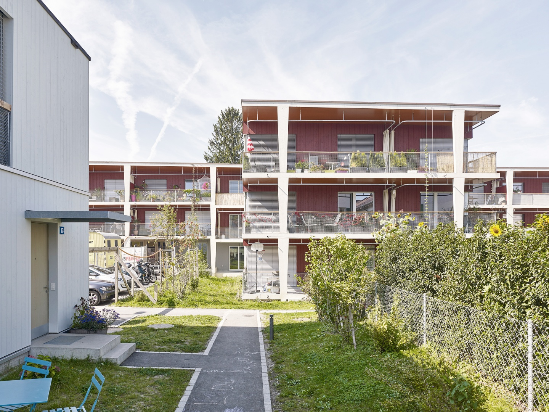 Zugang- und Aussenansicht  © Roland Bernath, Fotografie Architektur, Zürich