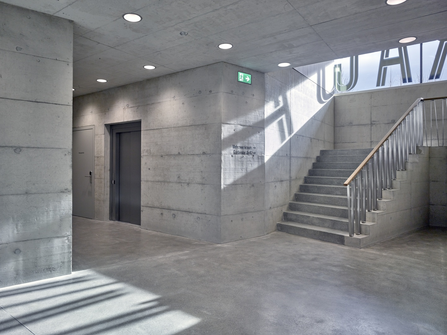 Treppenaufgang © Arnold Kohler Fotografie, Rudolfstrasse 24, 8400 Winterthur