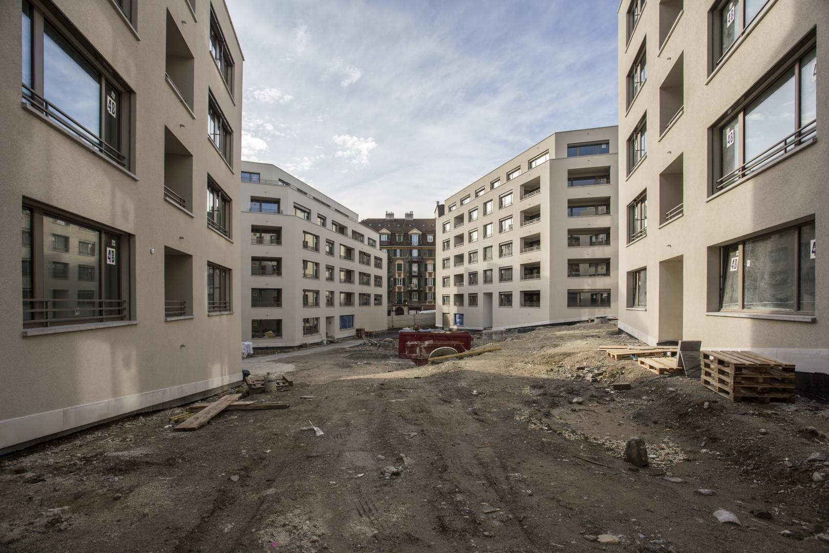 Ansicht 1 Innenhof © Fruehauf, Henry & Viladoms SA
