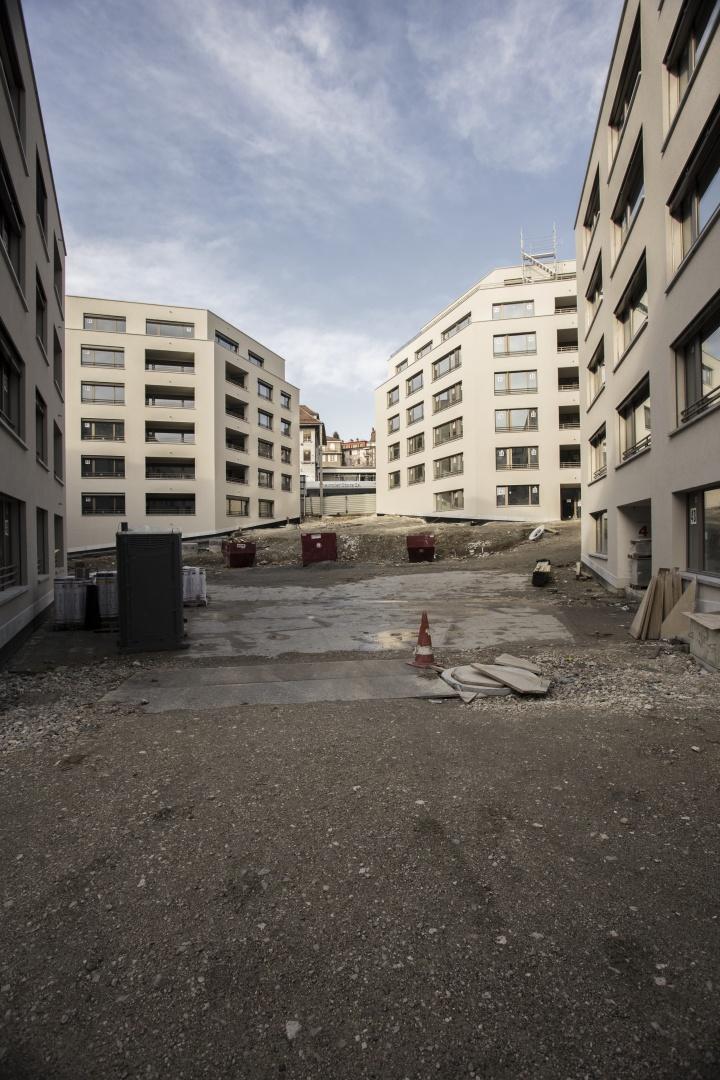 Ansicht 2 Innenhof © Fruehauf, Henry & Viladoms SA