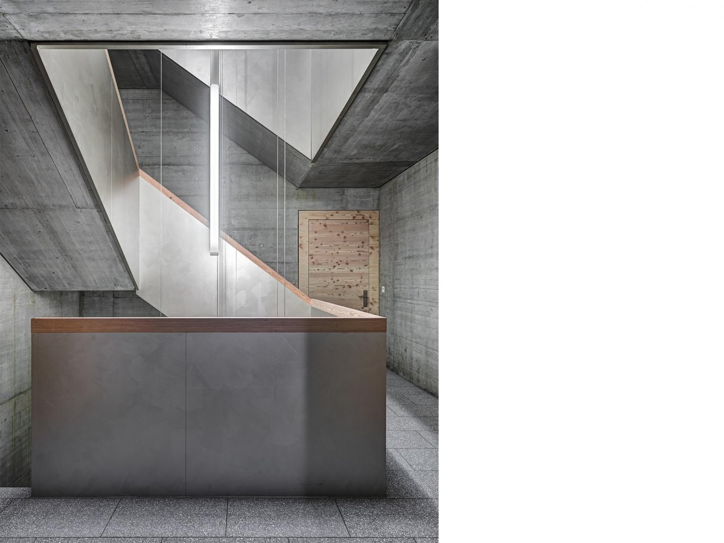 Treppenhaus © Bild: Roger Frei, Zürich