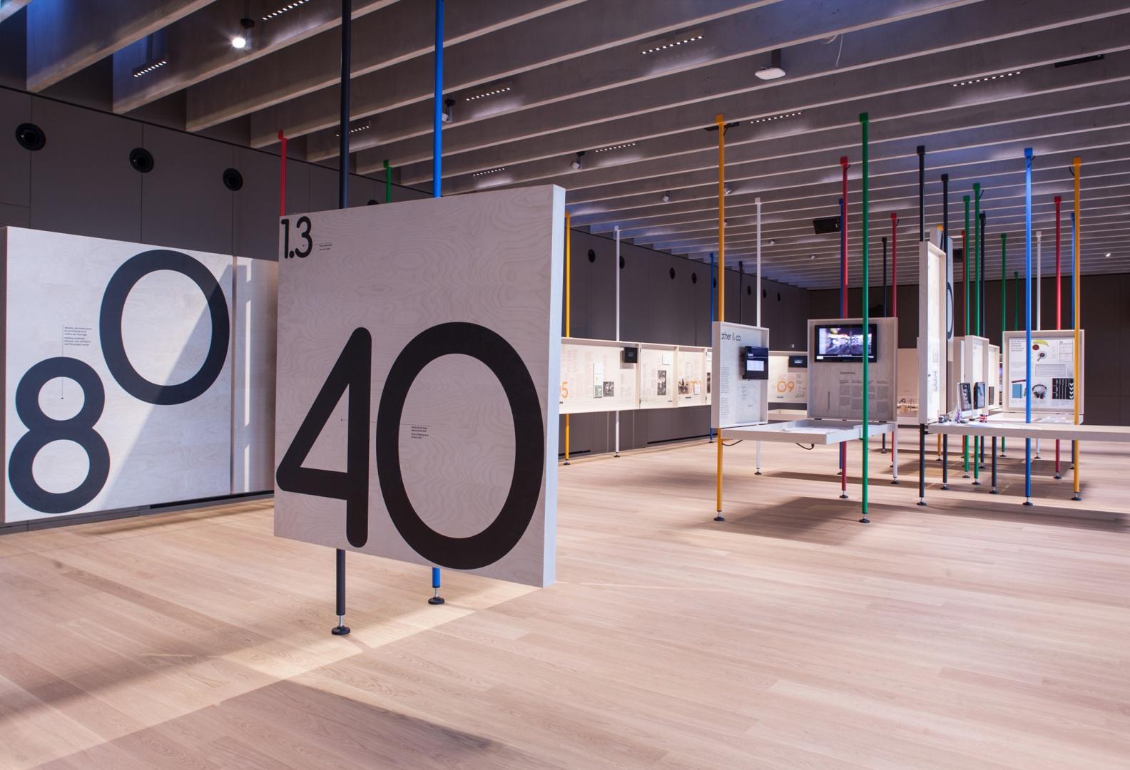 Salle expo Musée olympique © Brauen Wälchli Architectes