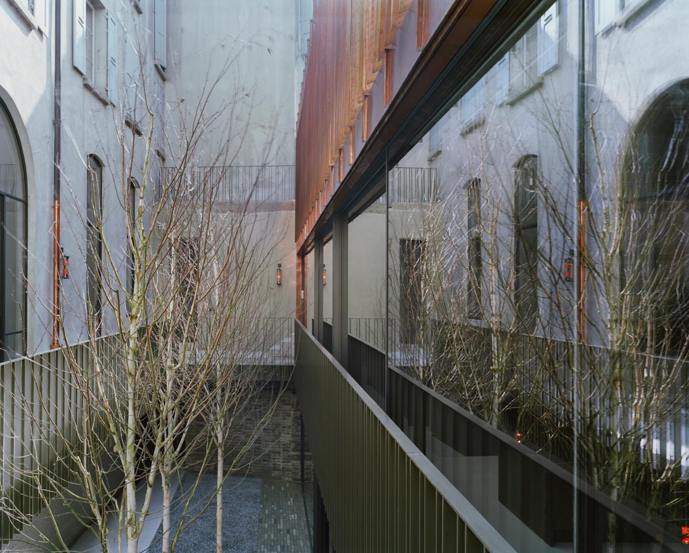 Fassade © Joël Tettamanti, www.tettamanti.ch