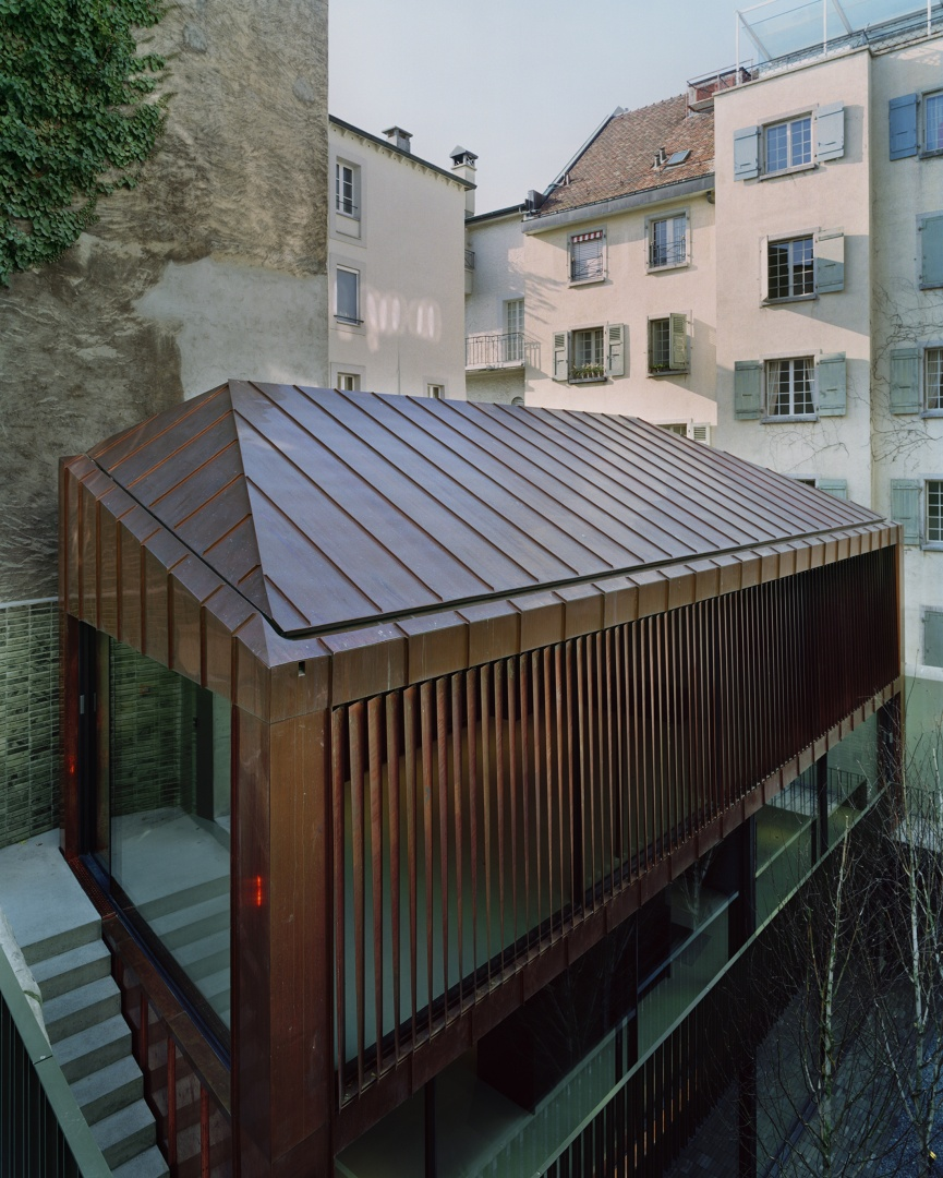 Gebäudekomplex © Joël Tettamanti, www.tettamanti.ch