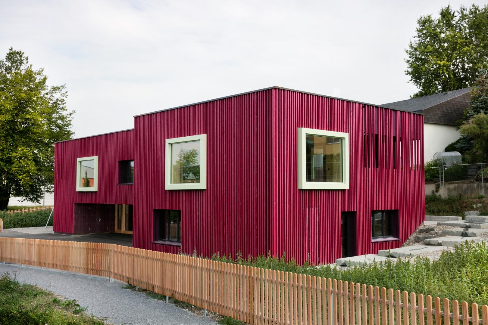 Aussenansicht © Singer Baenziger Architekten, Elisabethenstrasse 14a 8004 Zürich