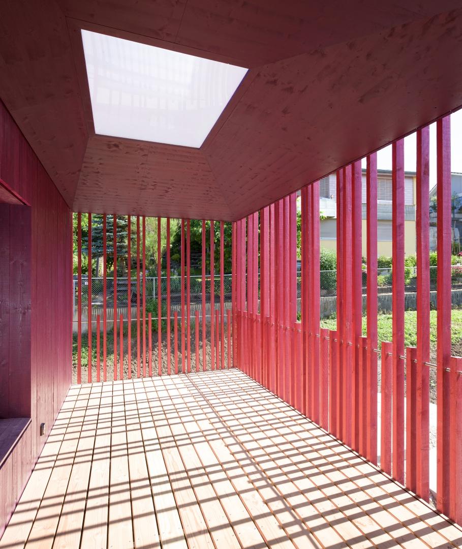 Aussennische © Singer Baenziger Architekten, Elisabethenstrasse 14a 8004 Zürich
