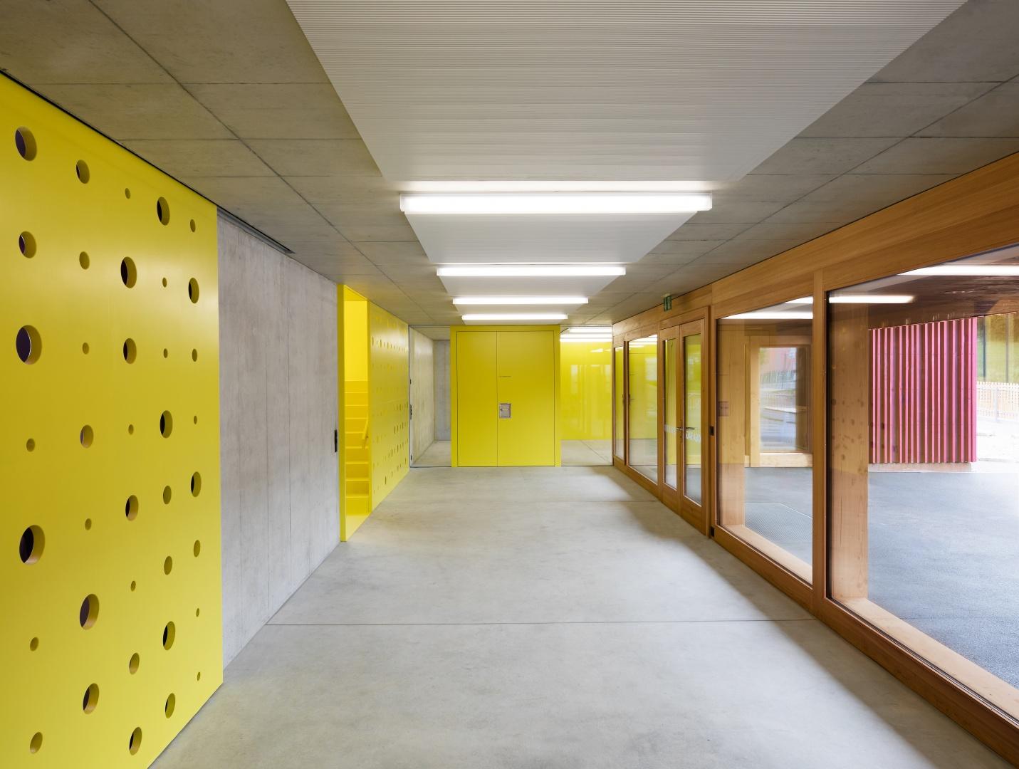 Garderobe © Singer Baenziger Architekten, Elisabethenstrasse 14a 8004 Zürich