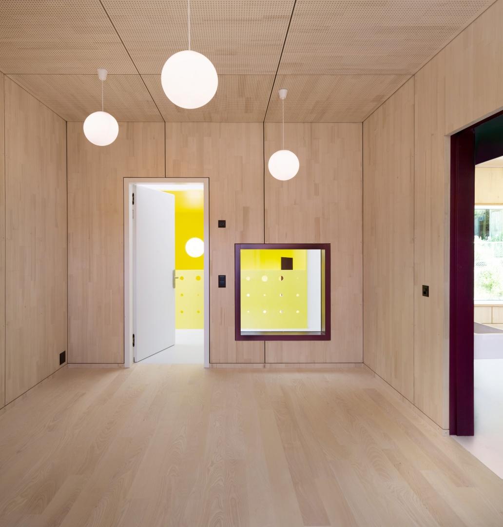 Gruppenraum © Singer Baenziger Architekten, Elisabethenstrasse 14a 8004 Zürich