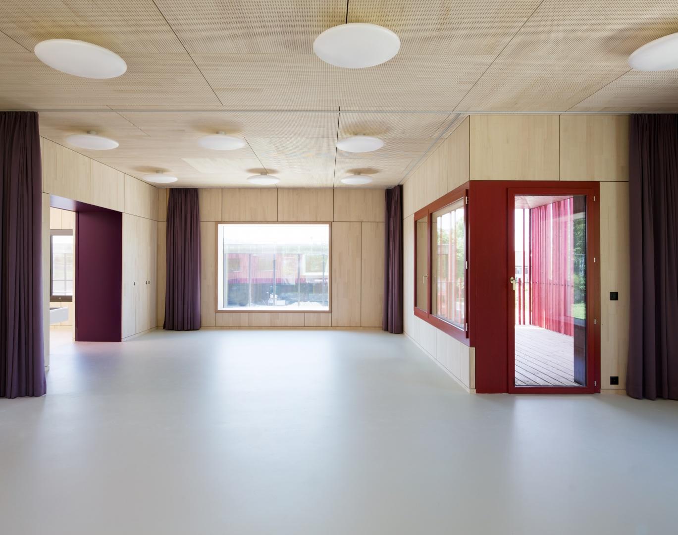 Hauptraum © Singer Baenziger Architekten, Elisabethenstrasse 14a 8004 Zürich
