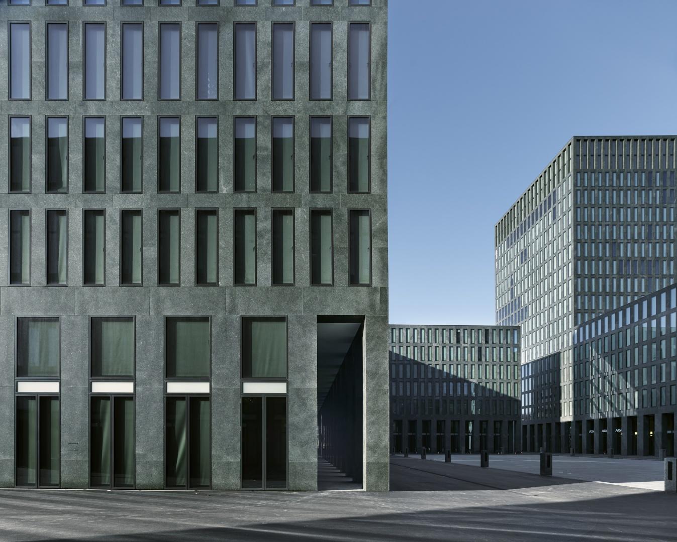 Geschäftshaus, Stadthaus und Maintower © Stefan Müller, Berlin