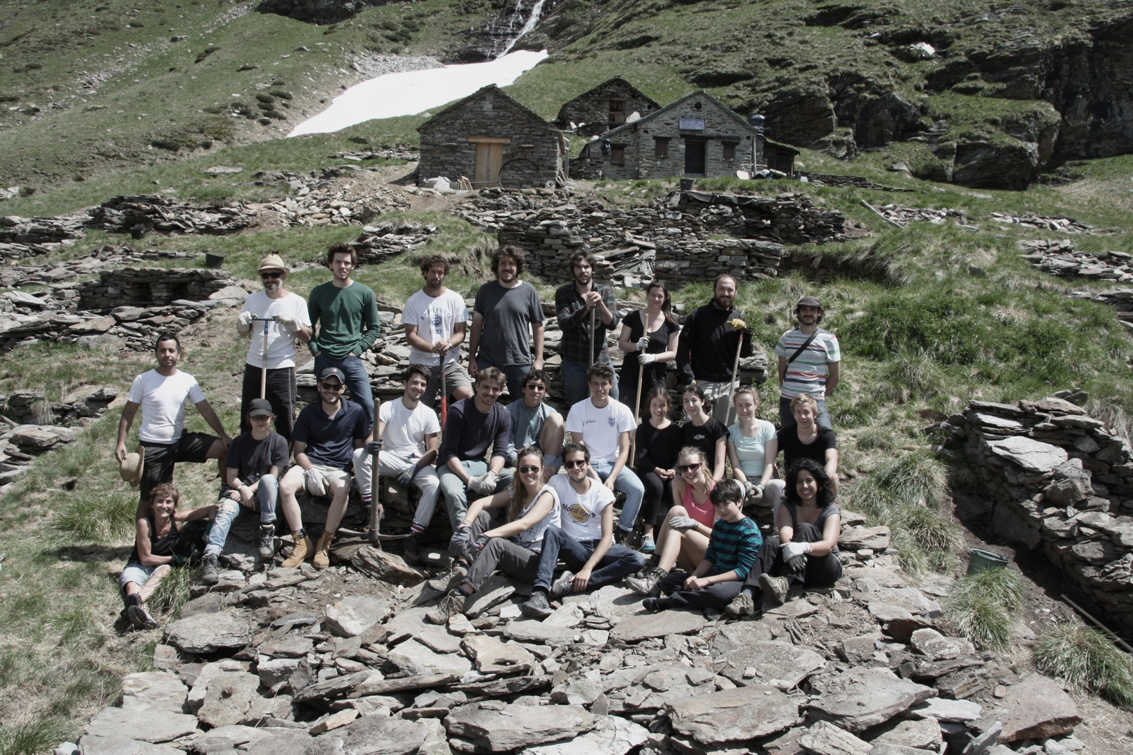 2 - Group picture on 22.6.2014 © Pino Brioschi, Bellinzona