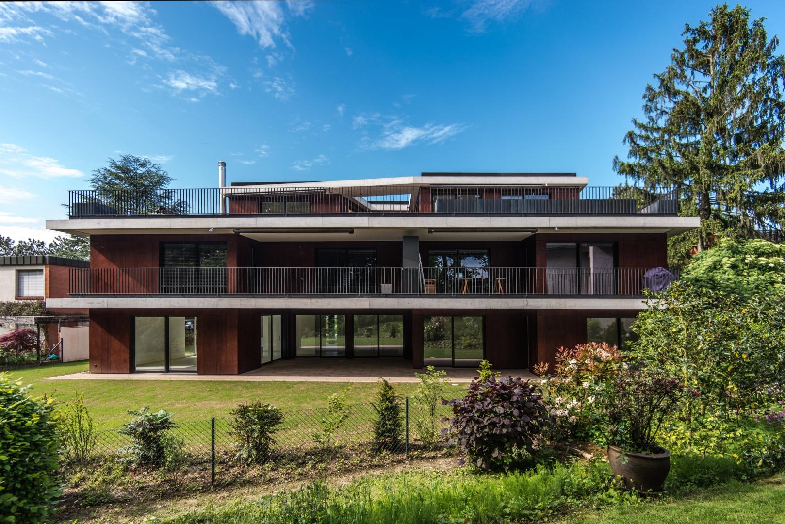 Neubau mehrfamilienhaus schweizer baudokumentation for Mehrfamilienhaus neubau
