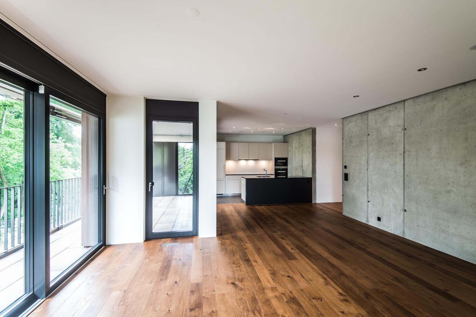 Salon/cuisine © Ferrara Architekten AG