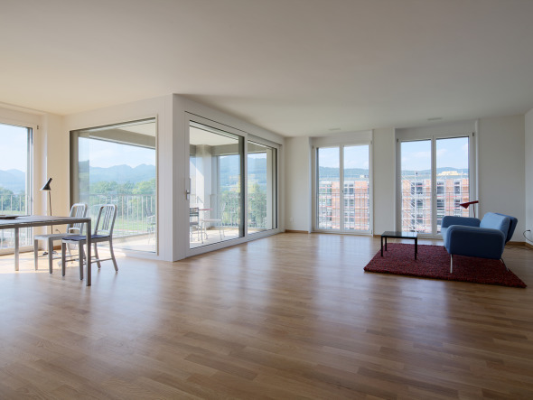 Wohnzimmer © W. Thommen AG