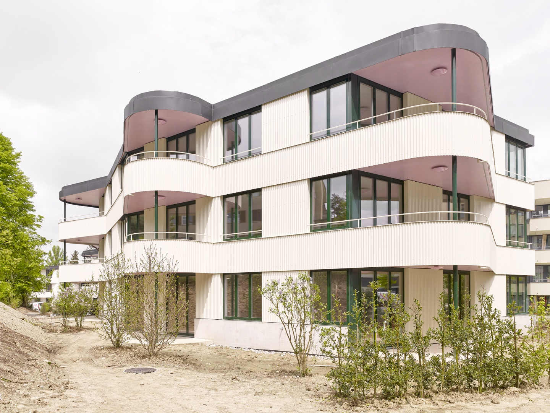 Weiterbauen der Gartenstadt © Roland Bernath, Fotografie Architektur, Zürich