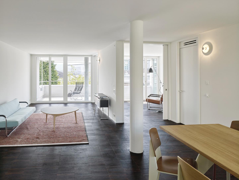 Regelwohnung © Roland Bernath, Fotografie Architektur, Zürich