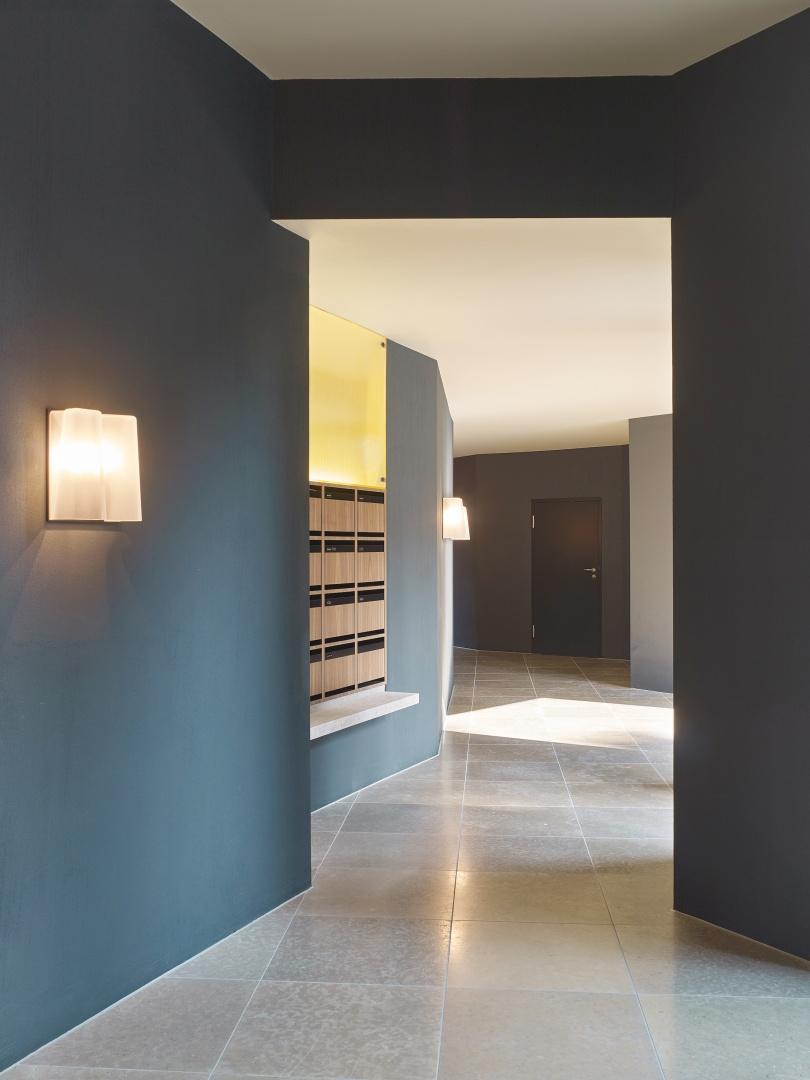 Eingangshalle © Roland Bernath, Fotografie Architektur, Zürich
