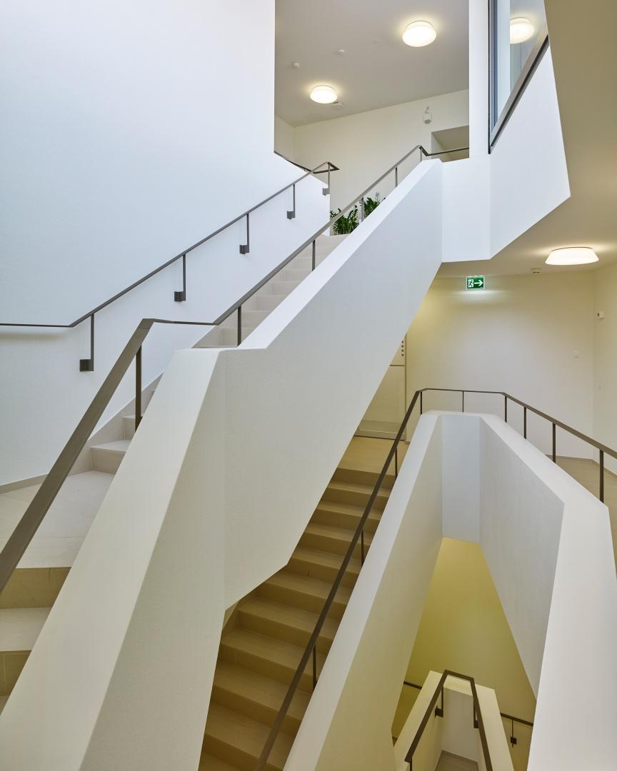 Treppenhaus © Roland Bernath, Fotografie Architektur, Zürich