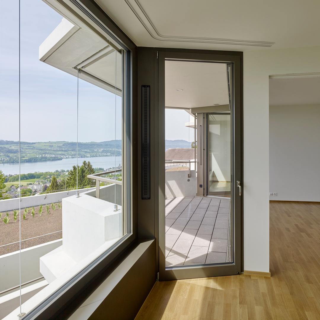 Wohnbereich Altersgerechte-Wohnung © Roland Bernath, Fotografie Architektur, Zürich