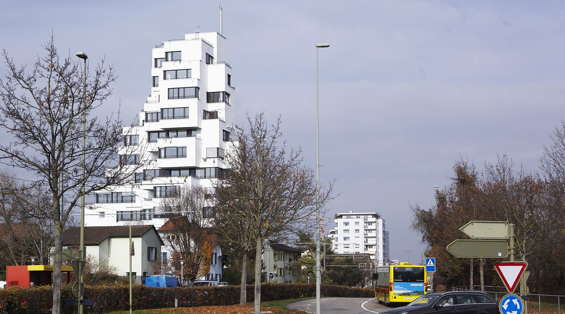 Stollturm_Kreisel_Zollweiden  © Architektur Rolf Stalder AG / Maria Gambino