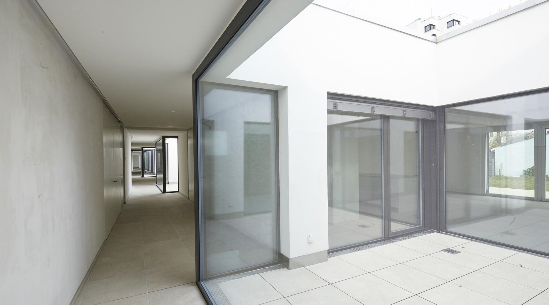 Stollturm_Gartenhaus_Erschliessung  © Architektur Rolf Stalder AG / Maria Gambino