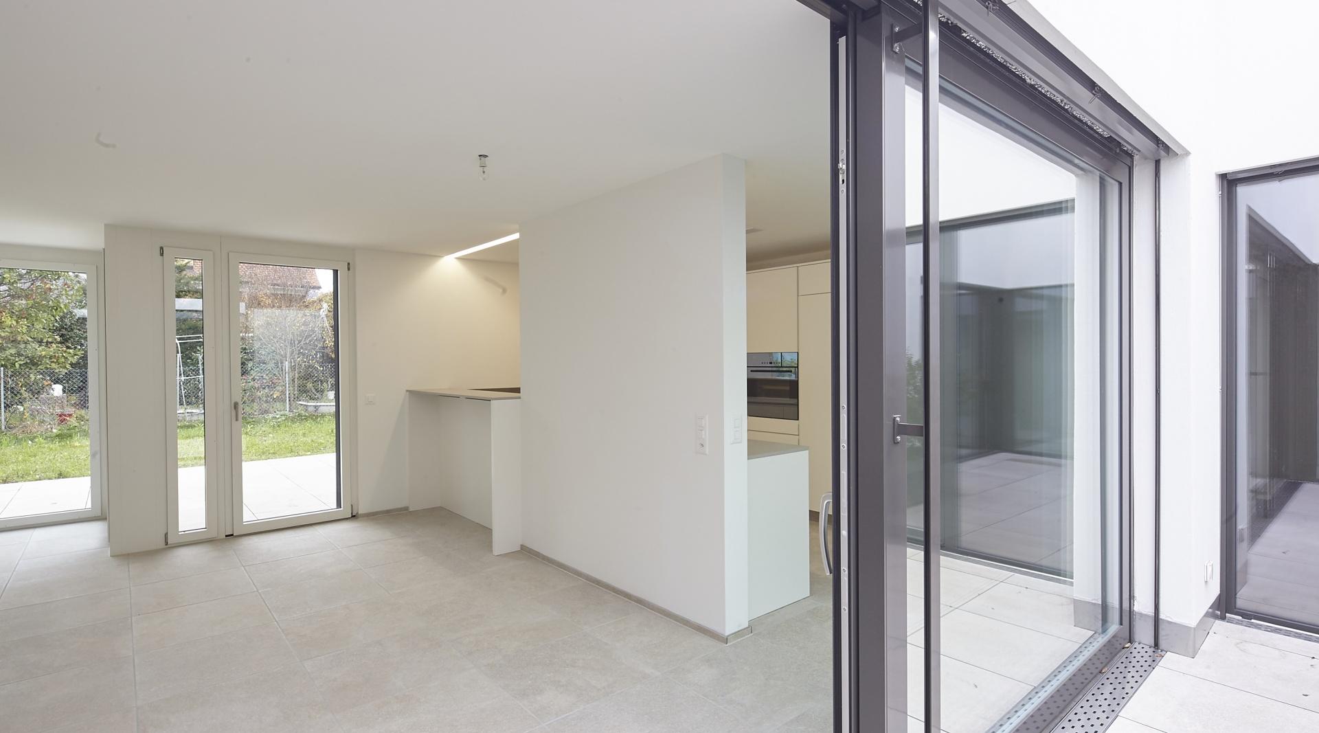 Stollturm_Gartenhaus_Kueche  © Architektur Rolf Stalder AG / Maria Gambino