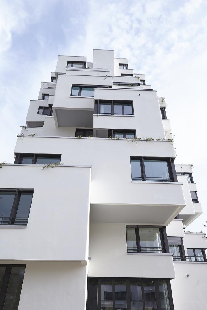 Stollturm Höhenentwicklung © Architektur Rolf Stalder AG / Maria Gambino