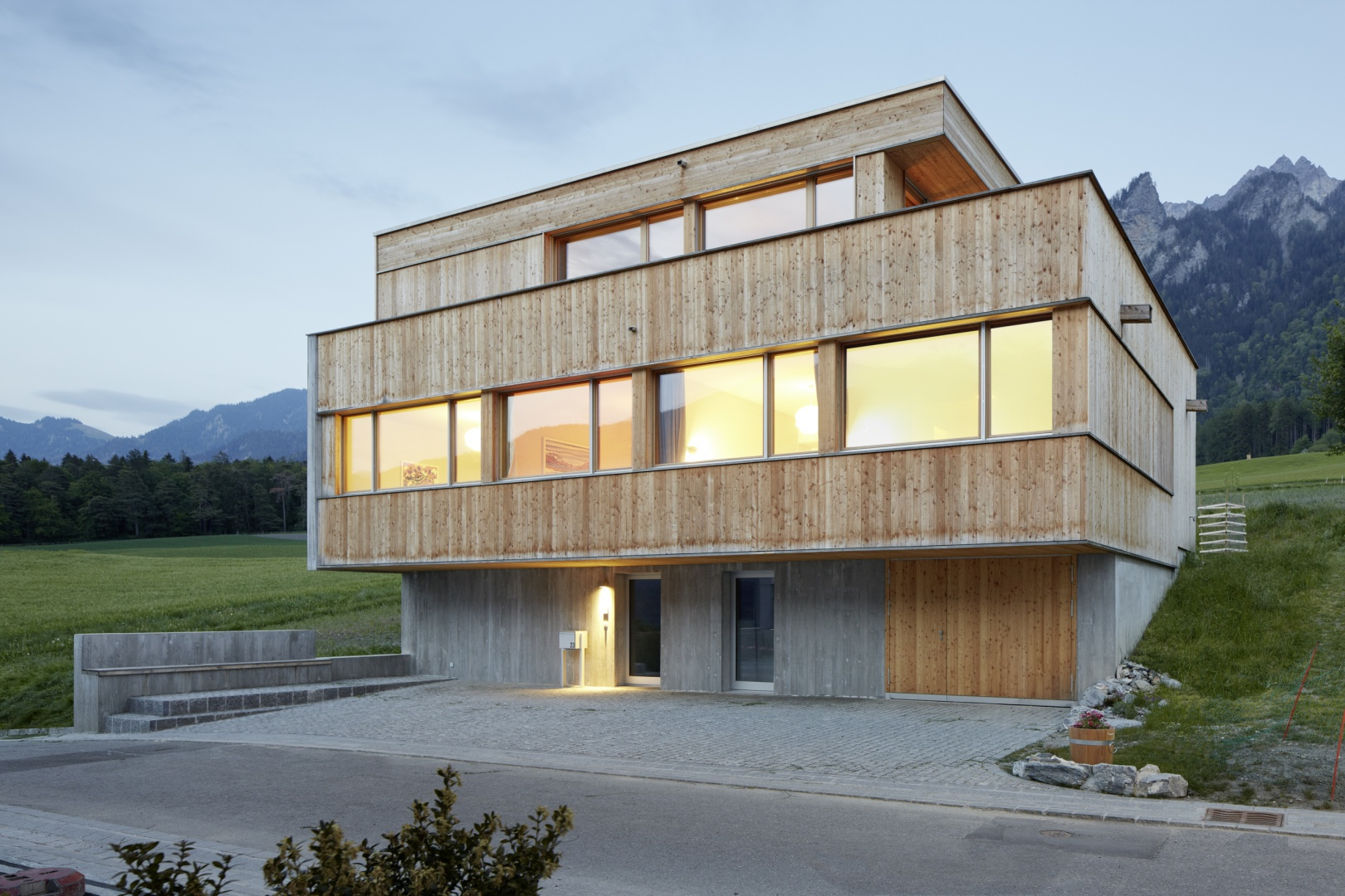 Efh huwiler maranta arc award - Architekten deutschland ...